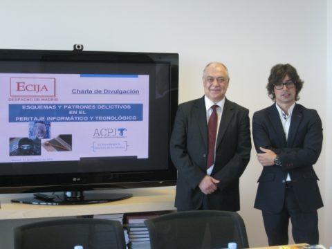 La Asociación imparte conferencias en el bufete Ecija de Barcelona y Madrid